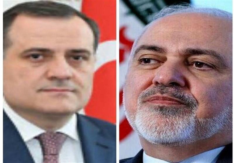 گفتگوی تلفنی وزیر خارجه جمهوری آذربایجان با ظریف درباره مناقشه قره باغ