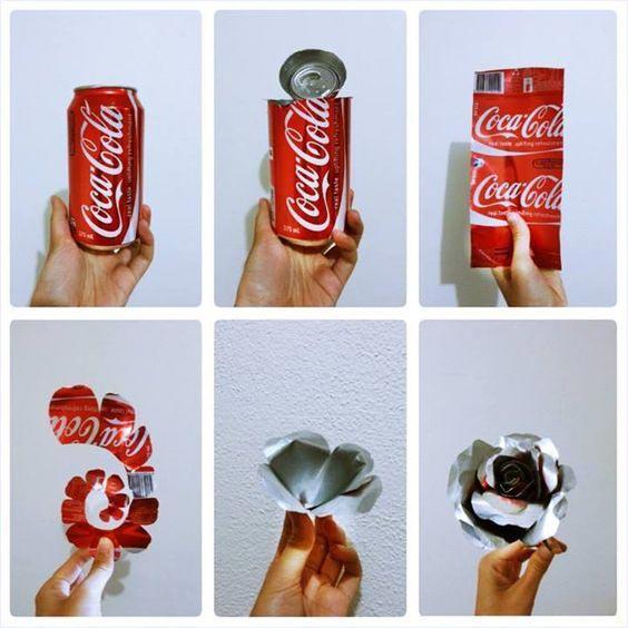 6 مدل استفاده خلاقانه از بطری های فلزی دور ریختنی