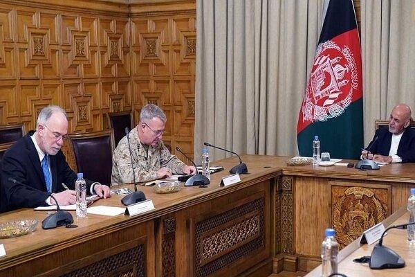 کنث مک کنزی با رییس جمهور افغانستان دیدار کرد
