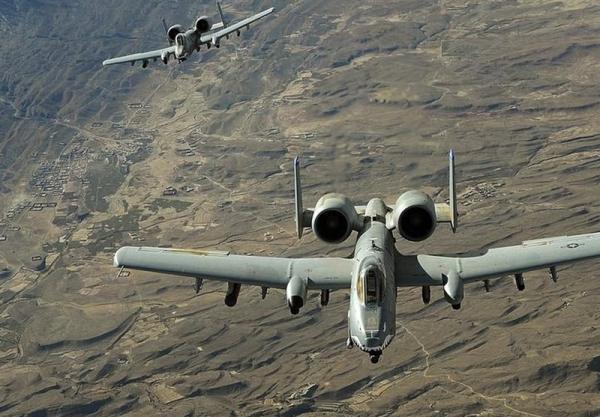 حملات هوایی آمریکا به طالبان در جنوب افغانستان