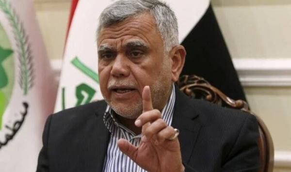 واکنش العامری به حمله موشکی علیه منطقه سبز بغداد