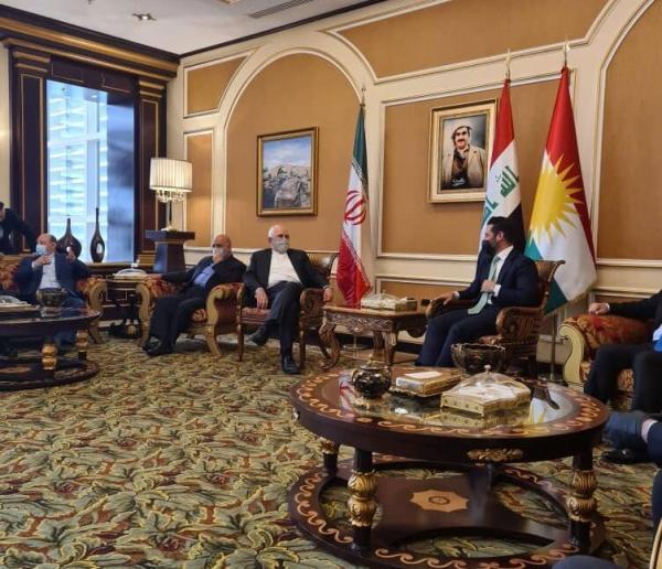 خبرنگاران استقبال مقامات اقلیم کردستان عراق از ظریف در اربیل