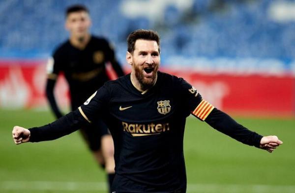 پیروزی بارسلونا برابر والنسیا با درخشش مسی