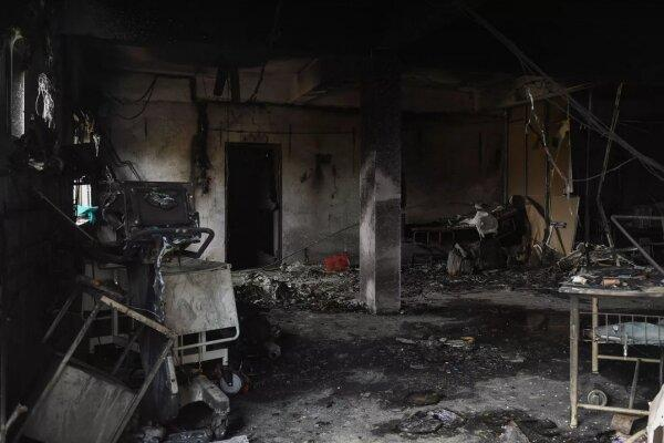 آتش سوزی در یک بیمارستان درگجرات هند، 18 بیمار کرونایی کشته شدند