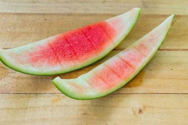 پوست هندوانه را دور نریزید
