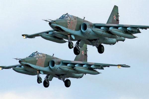 نیروی هوایی روسیه جنگنده های فرانسه را رهگیری کرد