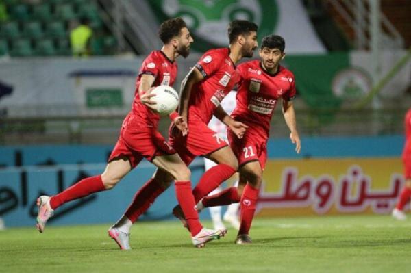 معوقه هفته بیست و یکم لیگ برتر، اشتباه لک خنثی شد، پرسپولیس از ایستگاه اصفهان به سلامت گذشت