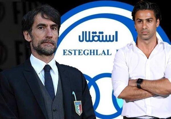 مربی ایتالیایی کارمند طرفدار استقلال می گردد!