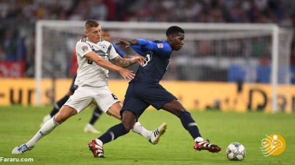 ساعت بازی فوتبال فرانسه - آلمان
