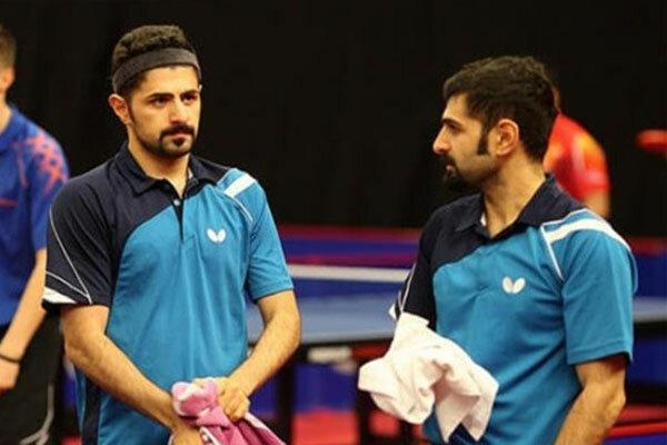 برادران عالمیان تنها پینگ پنگ بازان ایران در مسابقات جهانی هستند