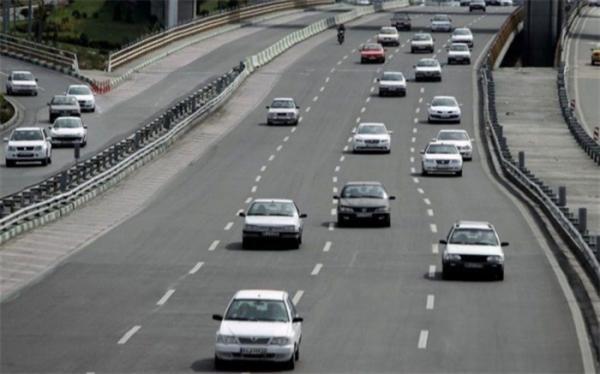 افزایش 2 درصدی تردد در محورهای برون شهری