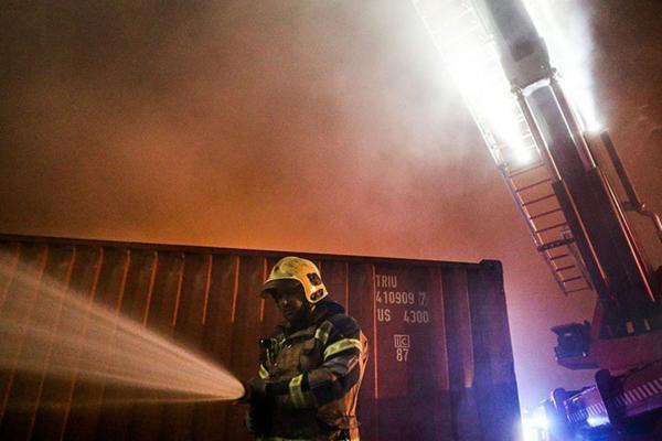 آتش سوزی در بیمارستان ممسنی؛ انتقال بیماران به شیراز