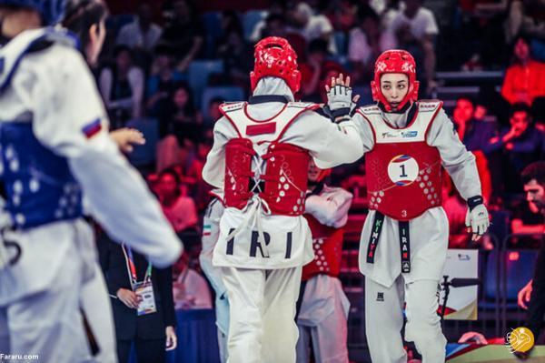 مربی ایرانی کیمیا علیزاده در المپیک کیست؟