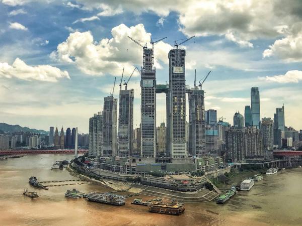 رافلز سیتی؛ پروژه 3.8 میلیارد دلاری با آسمانخراشی افقی